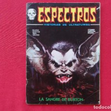 Cómics: ESPECTROS. Nº 28. LA SANGRE DE BURTON. C-13. Lote 92824265