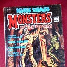 Cómics: RELATOS SALVAJES Nº20 MONSTERS OF THE MOVIES. Lote 92880925