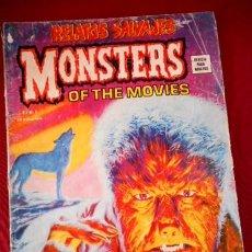 Cómics: RELATOS SALVAJES Nº9 MONSTERS OF THE MOVIES. Lote 92883560