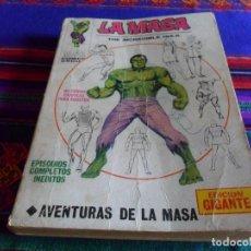 Cómics: VÉRTICE VOL. 1 EDICIÓN GIGANTE LA MASA. 1971. 50 PTS. 352 PGNS. COMPLETO Y RARO.. Lote 92970785