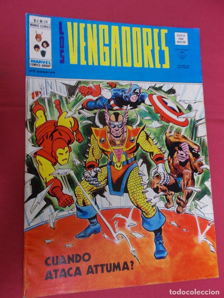 LOS VENGADORES. VOL 2. Nº 28. VERTICE. (Tebeos y Comics - Vértice - Vengadores)