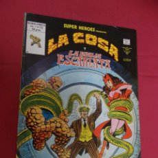 Cómics: SUPER HEROES.VOL 1. Nº 131. LA COSA Y LA BRUJA ESCARLATA. VERTICE.. Lote 93096850