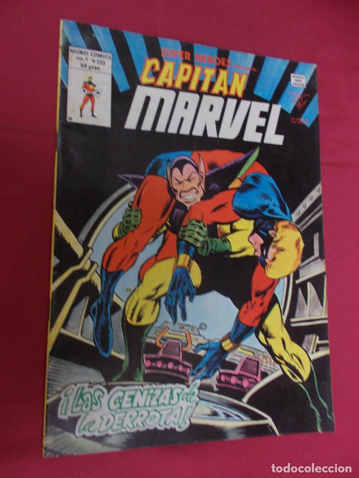 SUPER HEROES.VOL 1. Nº 133. CAPITAN MARVEL. VERTICE. (Tebeos y Comics - Vértice - Super Héroes)