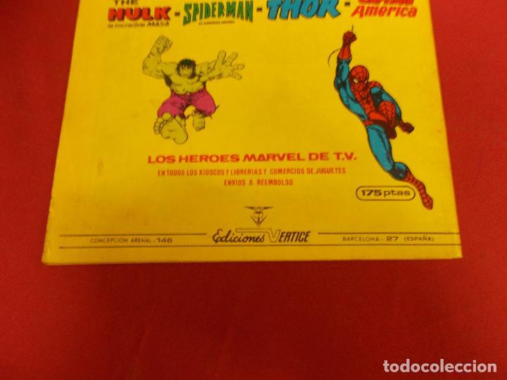 Cómics: SUPER HEROES.VOL 1. Nº 133. CAPITAN MARVEL. VERTICE. - Foto 3 - 93105245