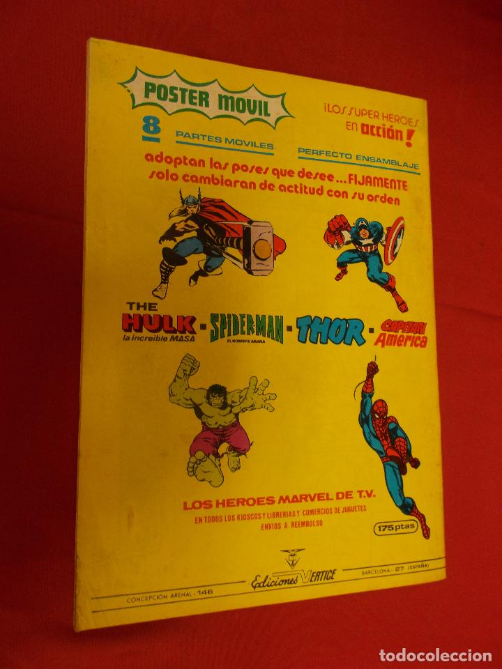 Cómics: SUPER HEROES.VOL 1. Nº 133. CAPITAN MARVEL. VERTICE. - Foto 4 - 93105245