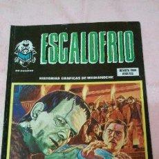 Cómics: ESCALOFRIO Nº 56, VERTICE , BUEN ESTADO Y DIFICIL!!!!!!. Lote 94184440