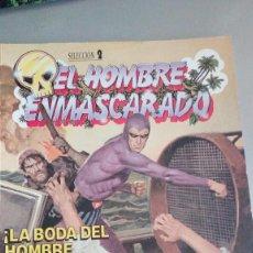 Cómics: LA BODA DEL HOMBRE ENMASCARADO Y 3 HISTORIAS MAS. Lote 94222090