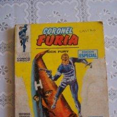 Cómics: CORONEL FURIA 4. NICK FURY. ¡ODIO! EDICIÓN ESPECIAL, MARVEL COMICS GROUP. EDICIONES VÉRTICE, 1971.. Lote 94492822
