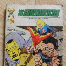 Cómics: LOS 4 FANTASTICOS FANTASTIC FOUR Nº 42 EL SEÑOR DE LATVERIA TACO VERTICE ORIGINAL MARVEL AÑO 1972. Lote 94549443