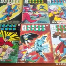 Cómics: SUPER STARS 6 NUMEROS. Lote 94618583