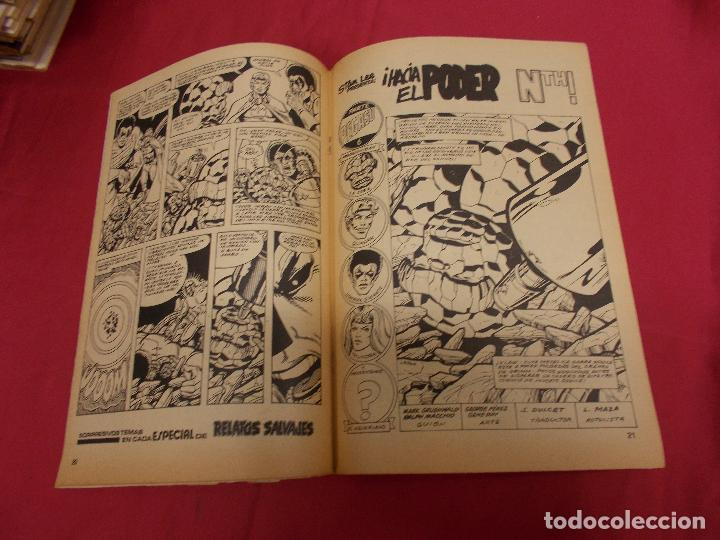 Cómics: SUPER HEROES. VOL 2. Nº 122. LA COSA Y WUNDARR. VERTICE. - Foto 3 - 94760515