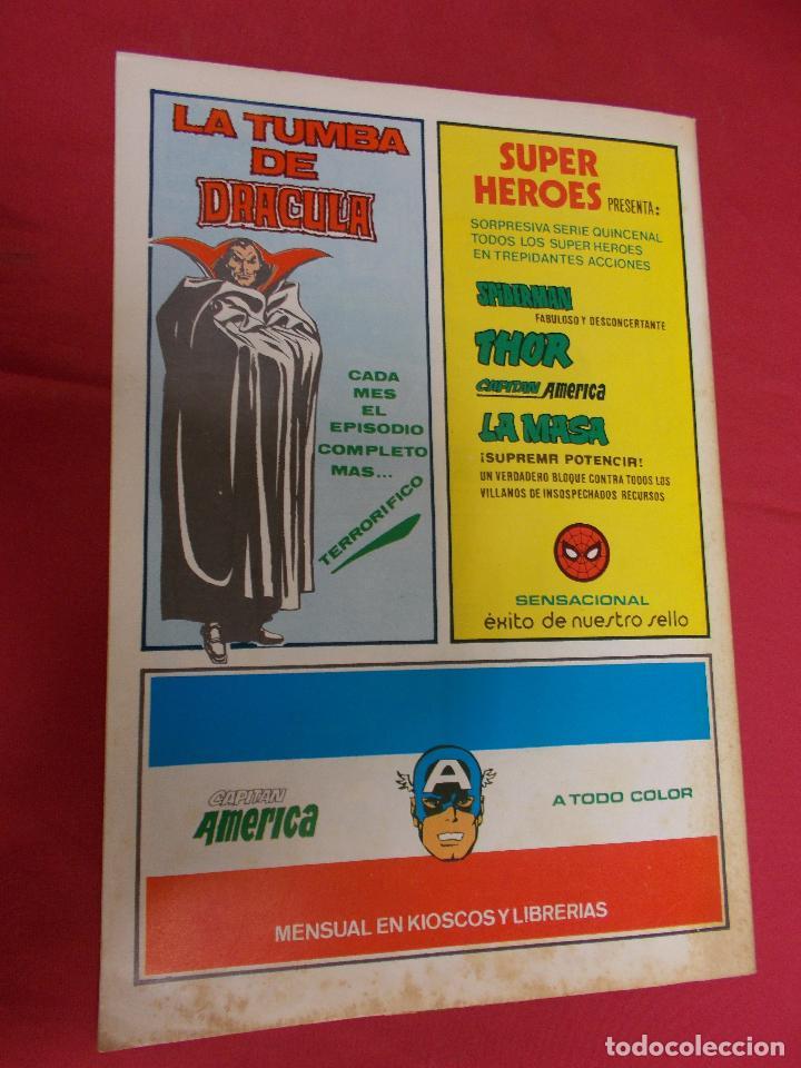 Cómics: SUPER HEROES. VOL 2. Nº 122. LA COSA Y WUNDARR. VERTICE. - Foto 4 - 94760515
