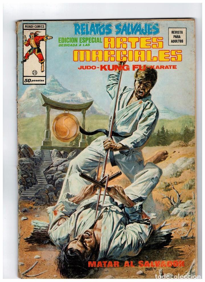 RELATOS SALVAJES -ARTES MARCIALES- Nº 25 (Tebeos y Comics - Vértice - Relatos Salvajes)