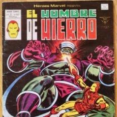 Cómics: IRON MAN - MARVEL COMICS - VOL. 2 Nº 62 - 1980 - PEQUEÑAS MARCAS DE USO - FN. Lote 95125251