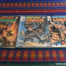 Cómics: VÉRTICE VOL. 1 RELATOS SALVAJES NºS 66 74 75 CONAN EL BÁRBARO. 1977. 50 PTS. TAMBIÉN SUELTOS.. Lote 95139191