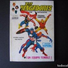 Cómics: UN EQUIPO TEMIBLE Nº 2 DE LOS VENGADORES [DE 52] EDICIONES VÉRTICE, S. A. 1969. Lote 95354787