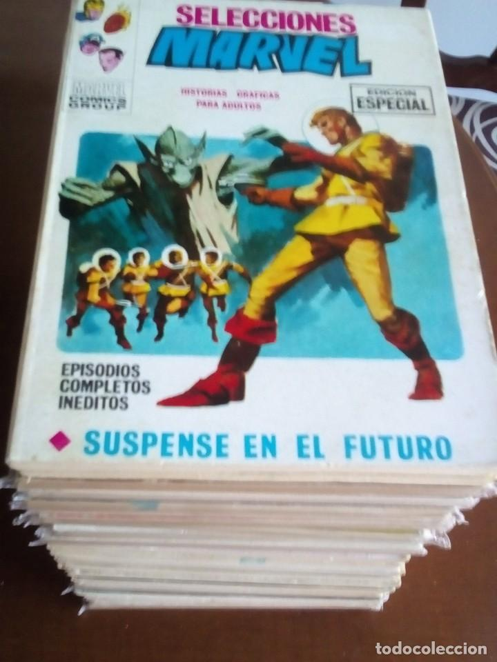 SELECCIONES MARVEL N 1 AL 23 COMPLETA (Tebeos y Comics - Vértice - Fleetway)