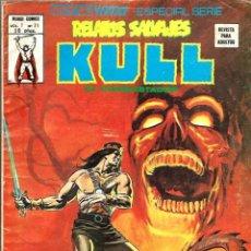 Cómics: RELATOS SALVAJES VOL. 1 Nº 71 - KULL EL CONQUISTADOR - VERTICE MUNDI COMICS 1979. Lote 95551743