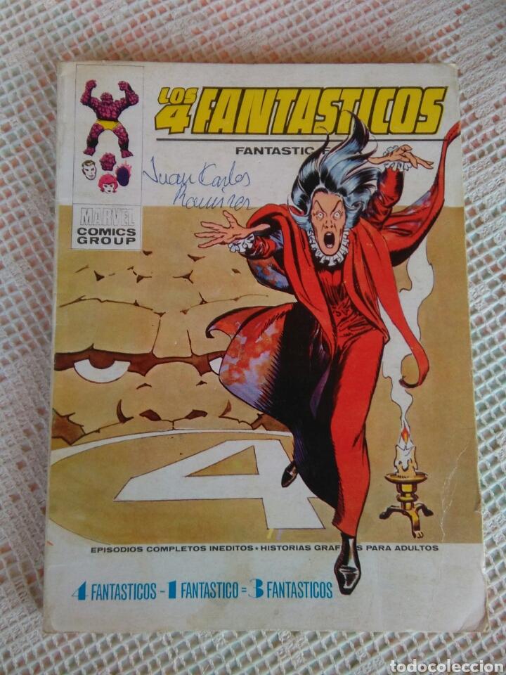 **LOS 4 FANTASTICOS DE MARVEL CÒMICS GROUP (1973)** (Tebeos y Comics - Vértice - 4 Fantásticos)