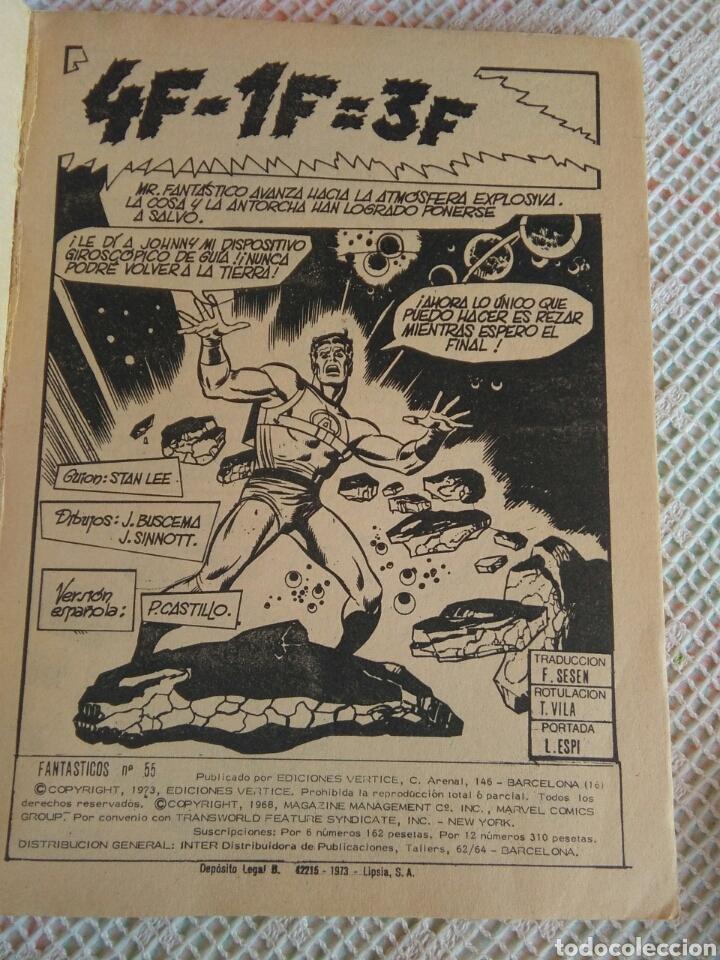 Cómics: **LOS 4 FANTASTICOS DE MARVEL CÒMICS GROUP (1973)** - Foto 3 - 128093095