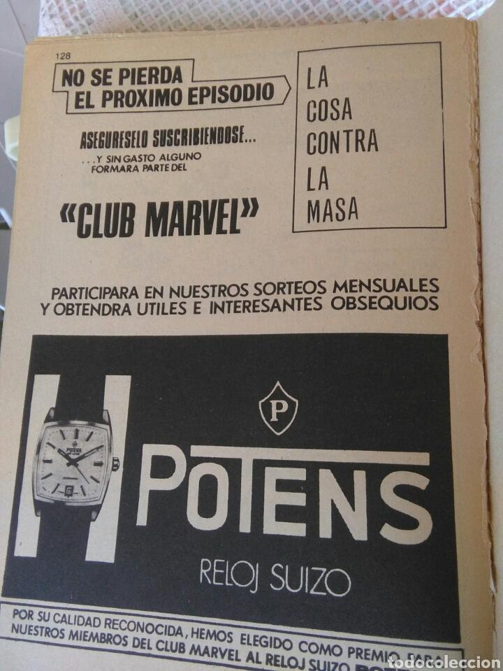 Cómics: **LOS 4 FANTASTICOS DE MARVEL CÒMICS GROUP (1973)** - Foto 4 - 128093095