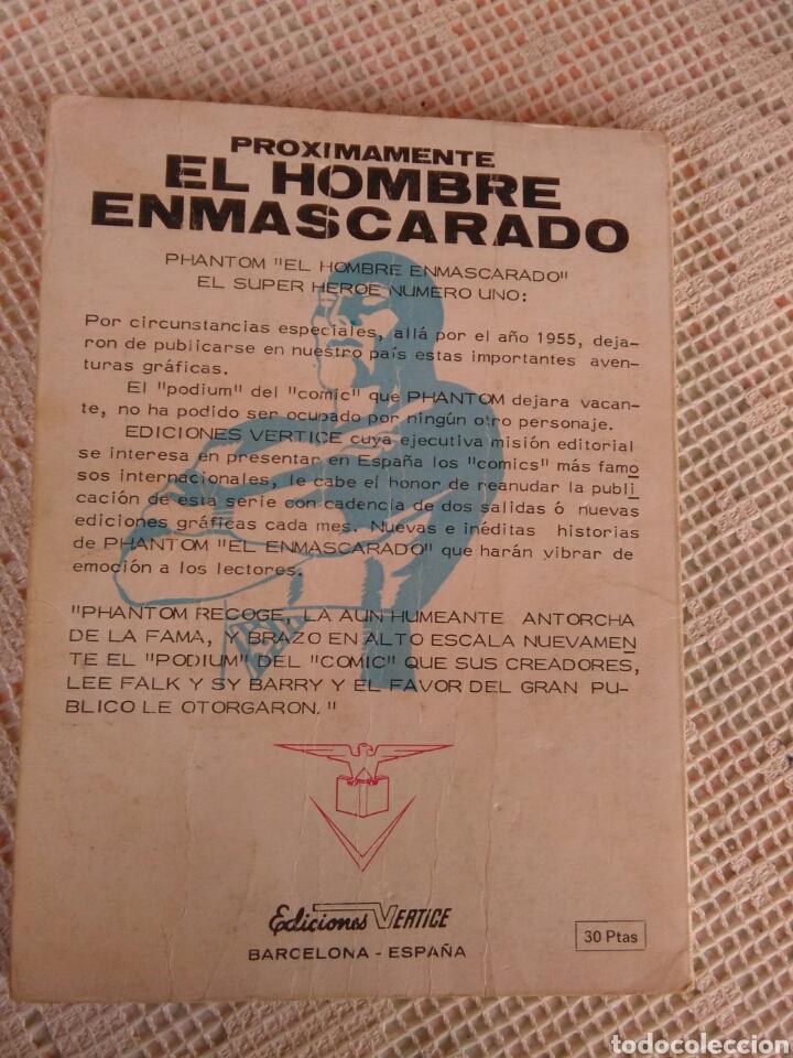 Cómics: **EL HOMBRE ENMASCARADO,---IRON MAN---No.32** - Foto 2 - 128093368