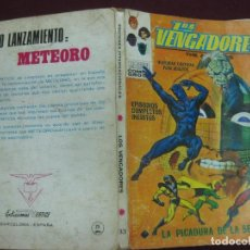 Cómics: LOS VENGADORES Nº 33, TACO. EDICIONES VERTICE 1972. Lote 95683383