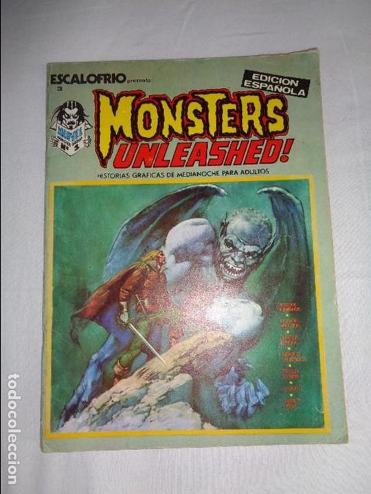 ESCALOFRIO. Nº 3 --- MONSTERS UNLEASHED 1 ---EDICIONES VÉRTICE (Tebeos y Comics - Vértice - Terror)
