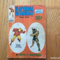 Cómics: EL HOMBRE DE HIERRO, IRON MAN, CONTRA EL MINOTAURO, EDICION ESPECIAL, VERTICE. Lote 95728383