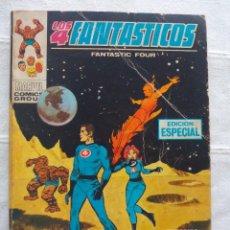 Cómics: LOS 4 FANTASTICO VERTICE VOL. V. VOLUMEN 1 TACO Nº 7 AÑO 1970. Lote 95762591