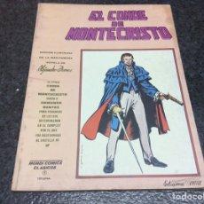 Cómics: MUNDI COMICS CLASICOS , EL CONDE DE MONTECRISTO. Lote 95855907