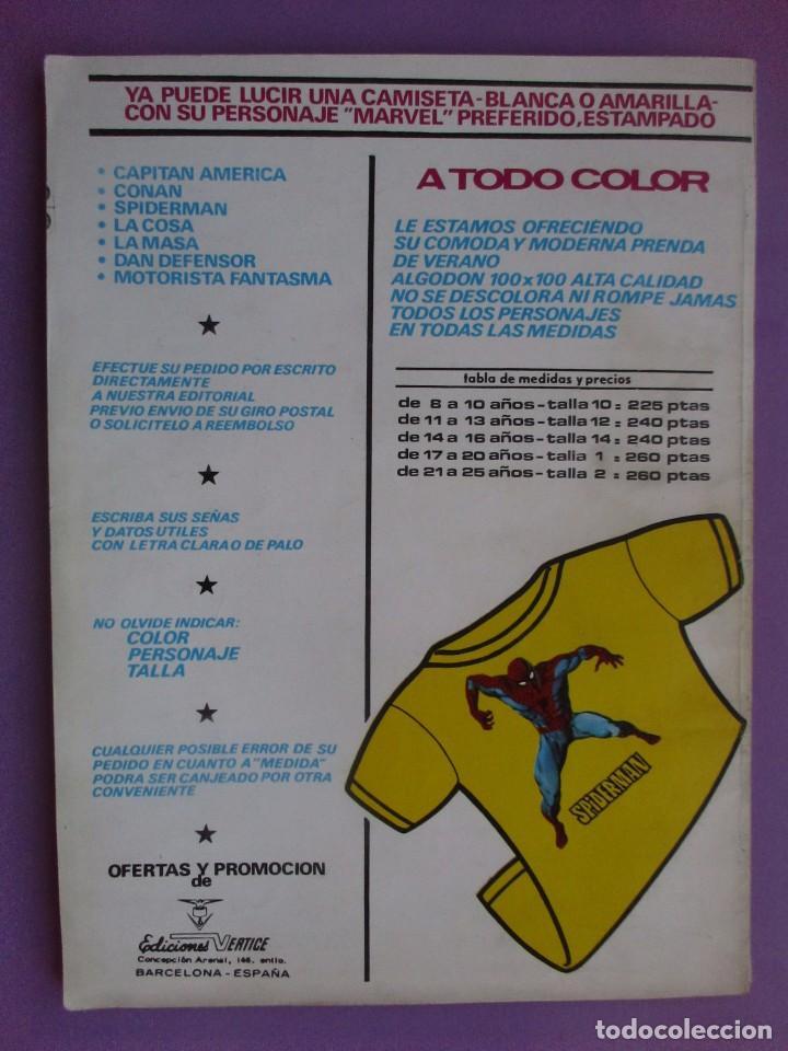 Cómics: ESCALOFRIO Nº 37 , MONSTERS UNLEASHED Nº10 VERTICE ¡¡¡¡¡¡ BUEN ESTADO!!!!! - Foto 2 - 96111935