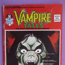 Cómics: ESCALOFRIO Nº 13, VAMPIRE TALES Nº 3 VERTICE ¡¡¡¡¡¡NORMAL/BUEN ESTADO!!!!!. Lote 96112319