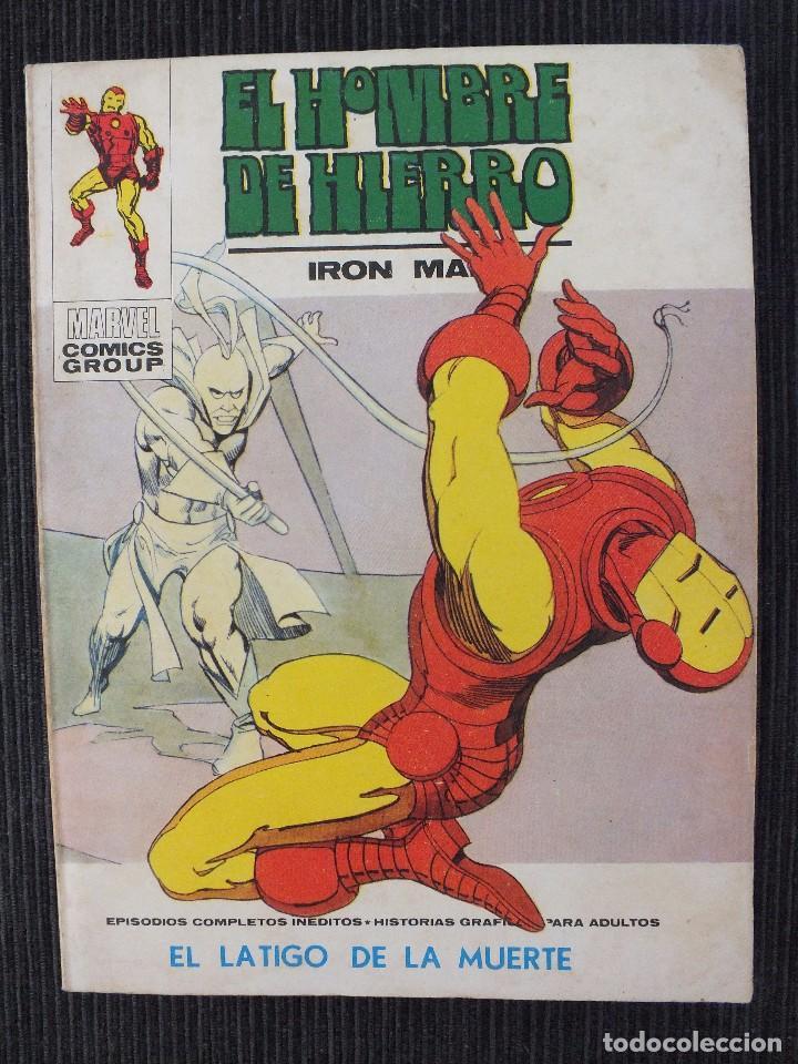 EL HOMBRE DE HIERRO Nº 32 VOLUMEN 1 EDITORIAL VERTICE (Tebeos y Comics - Vértice - V.1)