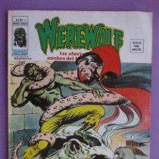 Cómics: WEREWOLF Nº 13 VERTICE VOLUMEN 2 ¡¡¡¡¡¡BUEN ESTADO!!!!!. Lote 96181087