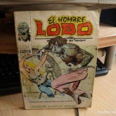 Cómics: EL HOMBRE LOBO - Nº 6 - FORMATO TACO - AÑO 1973 - VERTICE. Lote 96793819