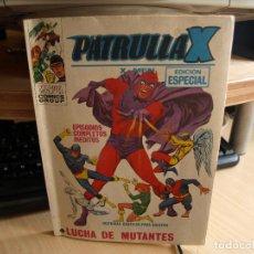 Cómics: PATRULLA X - Nº 25 - FORMATO TACO - AÑO 1974 - VERTICE. Lote 96794067