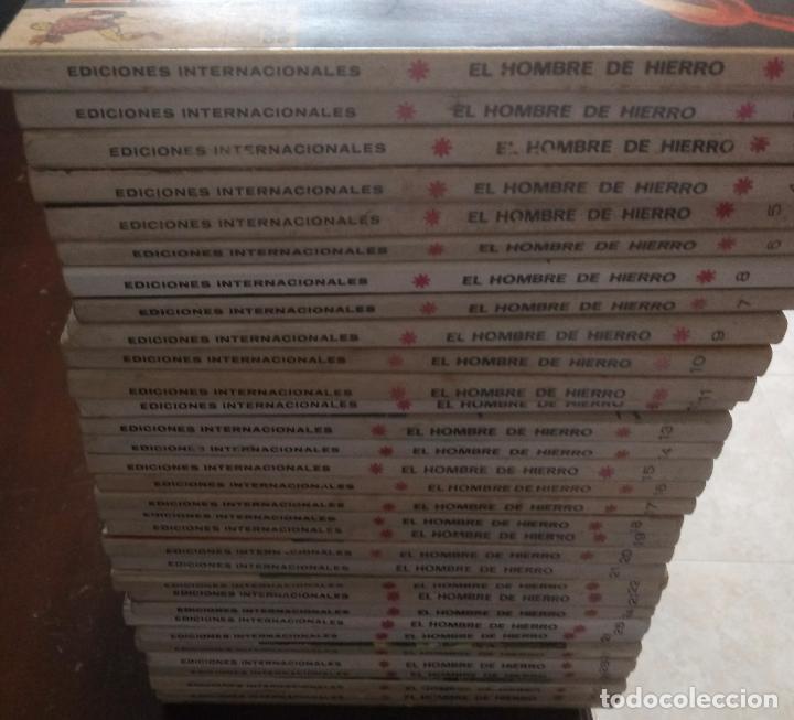 Cómics: VERTICE - EL HOMBRE DE HIERRO - COLECCION COMPLETA 32 COMICS - VOLUMEN.1 - BUEN ESTADO - Foto 4 - 96817695