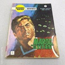 Cómics: SELECCIONES VÉRTICE Nº 11, MAROG EL TITÁN - 1966. Lote 96923019