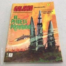 Cómics: GALAXIA Nº 14: EL PLANETA PROHIBIDO - VERTICE - 1965. Lote 96923651