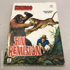 Cómics: KUNGOO Nº 2: SIN REMISIÓN - VERTICE - 1965. Lote 96926095
