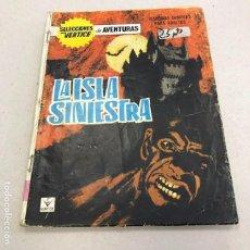 Cómics: SELECCIONES VÉRTICE Nº 13: LA ISLA SINIESTRA - VERTICE - 1965. Lote 96926819