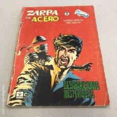 Cómics: ZARPA DE ACERO Nº 22: DESAPARICIONES MISTERIOSAS - VERTICE - 1965. Lote 96926887