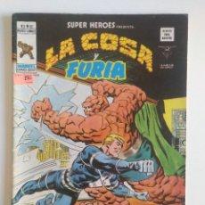 Cómics: LA COSA Y FURIA - SUPERHEROES VOL. 2 Nº 87 VERTICE. Lote 97057851