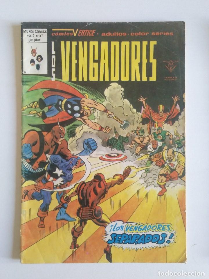 LOS VENGADORES. Nº 47 - MUNDICOMICS (Tebeos y Comics - Vértice - Vengadores)