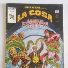 Cómics: SUPER HEROES VOL. 1 Nº 131 LA COSA Y LA BRUJA ESCARLATA - VERTICE - MUNDICOMICS. Lote 97064243