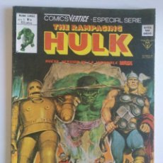 Cómics: THE RAMPAGING HULK Nº 9 VERTICE MUNDICOMICS. Lote 97065523