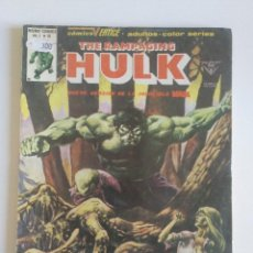 Cómics: THE RAMPAGING HULK Nº 10 VERTICE MUNDICOMICS. Lote 97065587