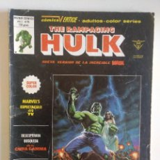 Cómics: THE RAMPAGING HULK Nº 15 VERTICE MUNDICOMICS. Lote 97065775