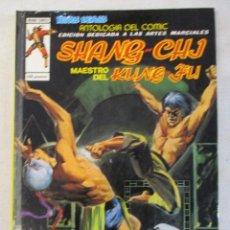 Cómics: ANTOLOGIA DEL COMIC Nº 11 SHANG-CHI MAESTRO DEL KUNG-FU VERTICE TOMO DE LUJO. Lote 97150579